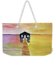 The Old Boat Shed Weekender Tote Bag