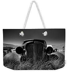 The Old Buick Weekender Tote Bag by Marius Sipa