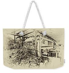 The Old Bus Weekender Tote Bag