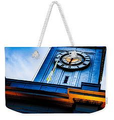 The Old Clock Tower Weekender Tote Bag