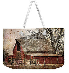 The Old Cope Barn Weekender Tote Bag