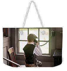 The Old Days Weekender Tote Bag