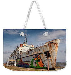 Weekender Tote Bag featuring the photograph The Old Duke by Adrian Evans