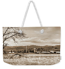 The Old Farm 1 Weekender Tote Bag by Ansel Price
