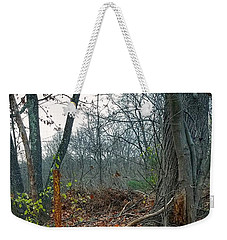 The Old Fire Hydrant Weekender Tote Bag