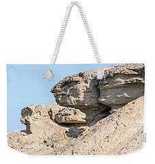 Weekender Tote Bag featuring the photograph The Old Gatekeeper 02 by Arik Baltinester