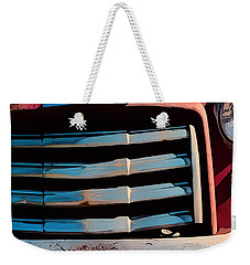 The Old Gmc At Pilar Weekender Tote Bag