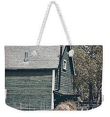 The Old Green Barn Weekender Tote Bag