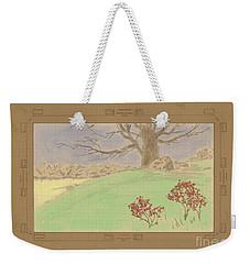 The Old Gully Tree Weekender Tote Bag