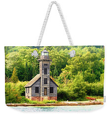 The Old Light Weekender Tote Bag
