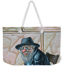 The Old Man Near The Western Wall Weekender Tote Bag