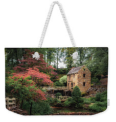 The Old Mill 5x6 Weekender Tote Bag by James Barber