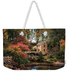 The Old Mill Weekender Tote Bag by James Barber