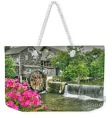 The Old Mill Weekender Tote Bag by Myrna Bradshaw