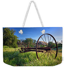 The Old Mower 2 Weekender Tote Bag by Endre Balogh