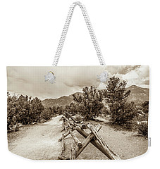 Weekender Tote Bag featuring the photograph The Old Path by Marilyn Hunt