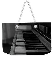 The Old Piano Weekender Tote Bag