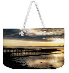 The Old Pier In Culross, Scotland Weekender Tote Bag