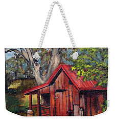 The Old Pig Barn Weekender Tote Bag