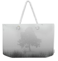 The Old Pine In The Fog Weekender Tote Bag