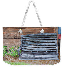 The Old Porch Swing Weekender Tote Bag