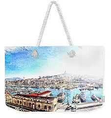 The Old Port Of Marseille  2 Weekender Tote Bag