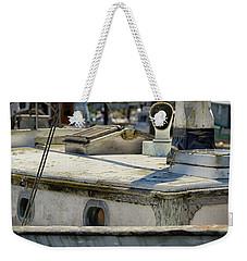The Old Sail Boat Weekender Tote Bag