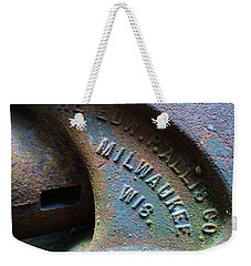 The Old Stamp Mill- Findley Mine Weekender Tote Bag