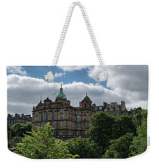 Weekender Tote Bag featuring the photograph The Old Town In Edinburgh by Jeremy Lavender Photography