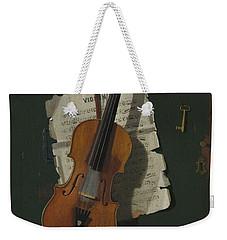 The Old Violin Weekender Tote Bag