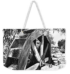 The Old Waterwheel Weekender Tote Bag