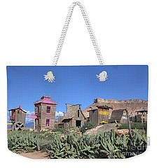 The Old Western Town  Weekender Tote Bag
