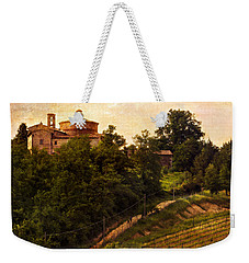 Weekender Tote Bag featuring the photograph The Old World by Marilyn Hunt