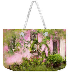 The Olde Pink House In Savannah Georgia Weekender Tote Bag