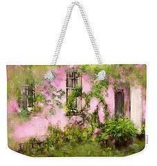 The Olde Pink House In Savannah Georgia Weekender Tote Bag
