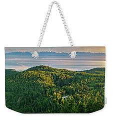 The Olympics From Mt Erie Weekender Tote Bag