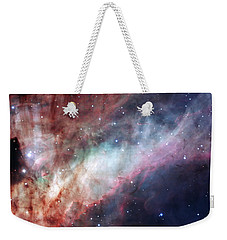 Weekender Tote Bag featuring the photograph The Omega Nebula by Eso