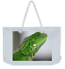 The Omnivorous Lizard Weekender Tote Bag