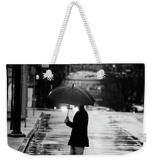 Weekender Tote Bag featuring the photograph The One Chance I Found  by Empty Wall