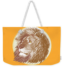 The One True King Weekender Tote Bag by J L Meadows