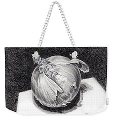 The Onion Weekender Tote Bag by Nancy Cupp