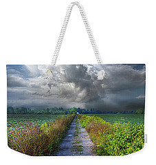 The Only Way In Weekender Tote Bag by Phil Koch