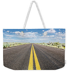 Weekender Tote Bag featuring the photograph The Open Road by Margaret Pitcher