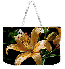 The Orange Lily Weekender Tote Bag