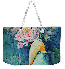 The Orange Vase Weekender Tote Bag