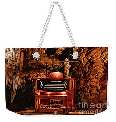 Weekender Tote Bag featuring the photograph The Organ In The Cavern by Paul Ward