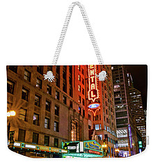 The Oriental Theater Chicago Weekender Tote Bag