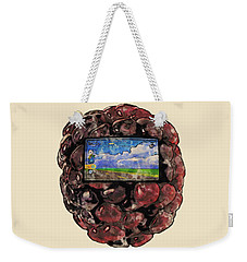 The Blackberry Concept Weekender Tote Bag