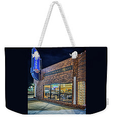 Weekender Tote Bag featuring the photograph The Orphan Motor Company by Susan Rissi Tregoning