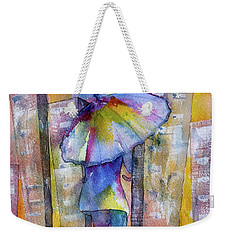The Other Girl In The City Weekender Tote Bag